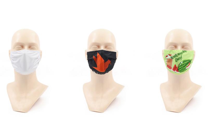 Printed Dye Sublimation Mask