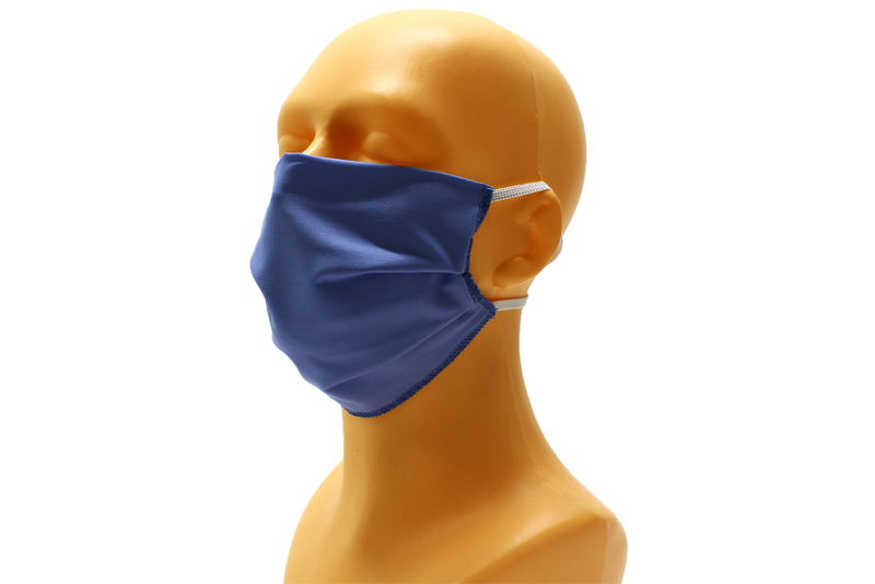 polyester mask with elastic